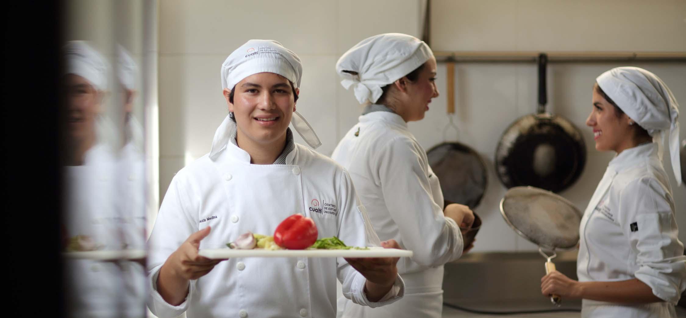 Licenciatura en Gastronomía